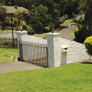 Painting Boundary Walls and Gates